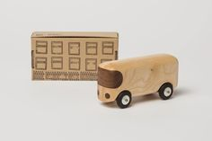 Wooden toys by Czech design studio NUXO