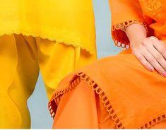 Kurti Sleeves Design, Sleeves Designs For Dresses, Kurta Neck Design, Dress Neck Designs, Fancy Dress Design, Stylish Dress Designs, Stylish Dresses For Girls, Casual Dresses, Girls Dresses