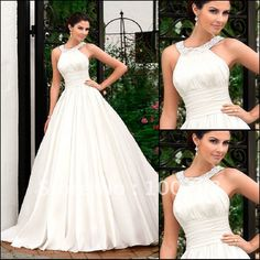 JJ2814  Free shipping wholesale BALL GOWN Sleeveless Floor Lengh  bridal  dress 2012-in Wedding Dresses from Apparel & Accessories on Aliexpress.com $221.05