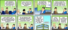Dilbert comic strip for 01/15/2012 from the official Dilbert comic strips archive.