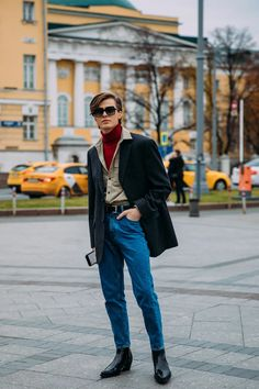London Street Style Men, Street Style Outfits Men, Preppy Outfits, Retro Outfits, Daily Fashion, Retro Fashion, Fashion Poses, Fashion Outfits, Androgynous Fashion