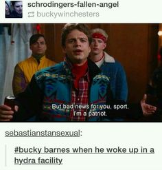 Identity crisis!! Who's Bucky??