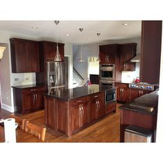 Why are dark counter-tops and appliances hard to keep clean? Dark surfaces have poor reflective properties, absorbing more light than they reflect. Result: spills and smears show up easily. White, sand or stone colors in a matte finish are almost always a