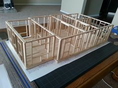 popsicle stick house blueprints - Google Search