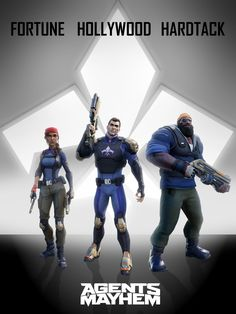 Deep Silver was live at and they reached out to the Gaming Illuminaughty to try out their new game 'Agents of Mayhem' by Volition, the same people who made the Saints Row series. Agents Of Mayhem Characters, News Games, Video Games, Fun Games, Awesome Games, Deep Silver, Saints Row, E3 2016, Hollywood