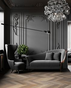 party decoration: discover exciting ideas - Home Fashion Trend Sofa Design, Wall Design, Home Room Design, Living Room Designs, House Design, Room Interior, Interior Design Living Room, Living Room Decor, Bedroom Decor