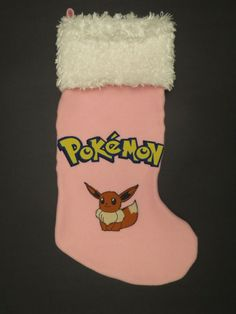 Pokemon Christmas Stocking featuring Eevee