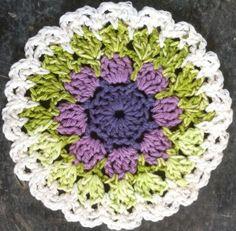 Lavender & Spearmint Dishcloth - pattern