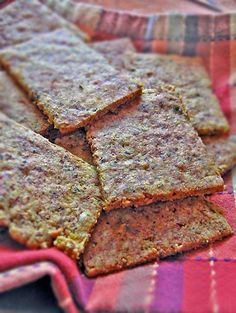 Gluten-free grain-free crackers. Make your own savory crackers. As promised , here is how I made the grain-free gluten-free cr...