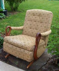 Gooseneck Rocker Rocking Chair! Goose Neck Shabby Chic! (07/09/2009)