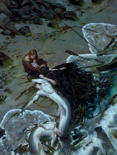 "miss-mary-quite-contrary: "" extranuance: "" mudwerks: "" lucyphermann: "" ghoulnextdoor: Donato Giancola The Golden Rose "" """