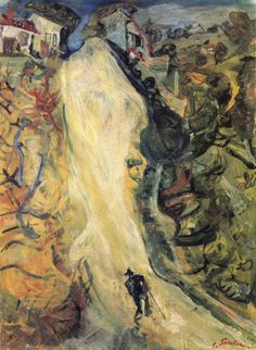 The Road Up - Chaim Soutine