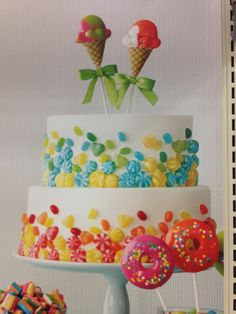 just add candy Cupcakes, Cupcake Cookies, Cake Decorating, Decorating Ideas, Dessert Decoration, Cake Boss, Pretty Cakes, Creative Cakes, Pie Recipes