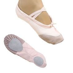 High Quality Women's Girl's Training shoes Canvas Soft Ballet/Yoga Dance Shoes White/Black/Red/Pink Wholesale