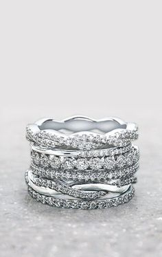 Perfect for the holidays. View our stunning collection of women's wedding bands from vintage-inspired styles to unique modern designs. [Promotional Pin]
