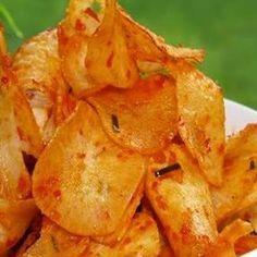 Cara Membuat Keripik Singkong Pedas Manis   Resep Masakan Nusantara Lengkap Komplit Spesial http://resepmasakan13.blogspot.com/2014/10/cara-membuat-keripik-singkong-pedas.html