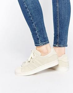 $98 adidas Originals Superstar RT Tonal Chalk White Sneakers Discover Fashion Online