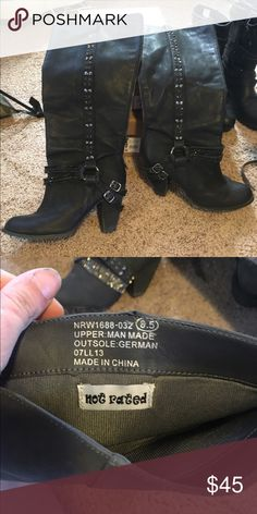 Not rated boots Good used condition not rated boots Not Rated Shoes Heeled Boots