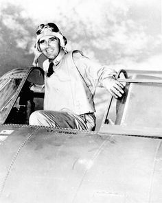 """Edward """"Butch"""" O'Hare, who was raised in Chicago, became an early war hero in 1942, when he single-handedly shot down five Japanese planes. O'Hare, who was awarded the Congressional Medal of Honor for his feat, was killed in 1943. The city later renamed that out-of-the-way airport on the Northwest Side in his honor."""