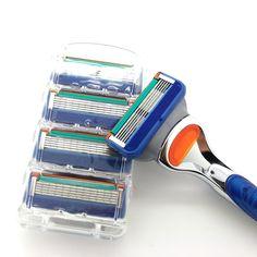4pcs/set 5 Layers Razor Blades For Men Standard Trimmer 5 Blades 4 Shaver Heads Razor Blade For Mens Shaving Cutting -  http://mixre.com/4pcsset-5-layers-razor-blades-for-men-standard-trimmer-5-blades-4-shaver-heads-razor-blade-for-mens-shaving-cutting/  #RazorBlade