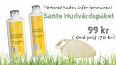 Ekologiska hudvårdspaket och kampanjer i vår butik! www.ecodei.se