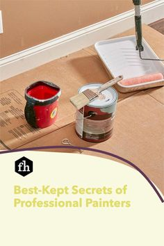 Learn how to paint like a pro and pick up some great tips for achieving a perfectly smooth and even paint job. Best Kept Secret, The Secret, Painting Tips, House Painting, Lead Paint, Professional Painters, Buying A New Home, Paint Furniture, Easy Paintings