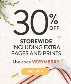 Bargain - 30% OFF - Storewide Including Extra Page & Prints @ Snapfish