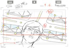 ca-tsuka: Ping Pong animations by Bahi JD (see more on twitter). (ピンポン) バヒ・JD: layouts and roughs that I did. レイアウトとラフ原画
