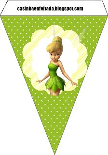 Charming Child: Tinker Bell Party Kit For Free Print