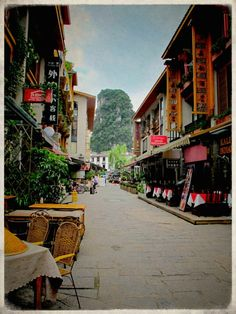 Town Centre of Yangshuo, China | In #China? Try www.importedFun.com for award winning #kid's #science |