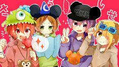 埋め込み Anime Chibi, Kawaii Anime, Fanart, Diabolik Lovers, Boy Art, Anime Couples, Vocaloid, Neko, Game Art
