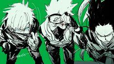 Anime Naruto, Naruto Kakashi, Naruto Shippuden Anime, Manga Anime, Anime Crossover, Another Anime, Anime Kunst, Cute Anime Guys, Manhwa