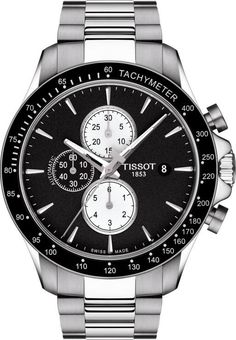 Tissot Watch V8 #add-content #bezel-fixed #bracelet-strap-steel #brand-tissot #case-depth-14-8mm #case-material-steel #case-width-45mm #chronograph-yes #date-yes #delivery-timescale-call-us #dial-colour-black #discount-code-allow #gender-mens #luxury #movement-automatic #new-product-yes #official-stockist-for-tissot-watches #packaging-tissot-watch-packaging #style-dress #subcat-t-sport #supplier-model-no-t1064271105100 #warranty-tissot-official-2-year-guarantee #water-resistant-100m