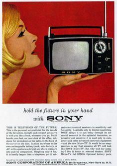 PROPAGANDAS ANTIGAS - TV Sony
