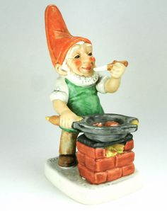 Carl Cook Co-Boy Elf Gnome Figurine Goebel by pluckydotcollections