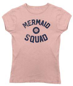 Women's Mermaid Squad T-Shirt - Juniors Fit