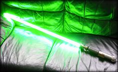 The blade is ridiculously bright and lights up in an instant, the handle is gorgeous and beautifully constructed, I mean, everything about this lightsaber is just perfect. Even Luke Skywalker would be drooling over this. Watch it light up: