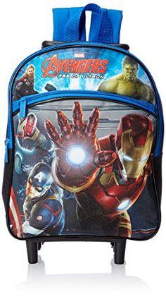 Marvel Boys' Avengers 12 Inch Rolling Backpack - http://handbags.kindle-free-books.com/marvel-boys-avengers-12-inch-rolling-backpack/