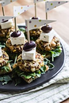 Feta + Herb Chickpea Quinoa Sliders | edibleperspective.com #glutenfree