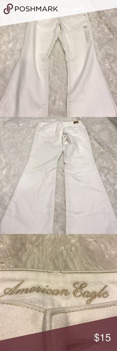 White Original Boot American Eagle jeans New with tags American Eagle Outfitters Pants Boot Cut & Flare