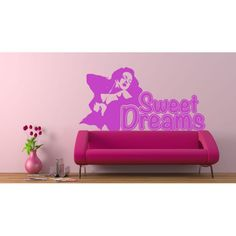 vinilo adhesivo Sweet Dreams Sweet Dreams, Toy Chest, Storage Chest, Pin Up, Toys, Furniture, Home Decor, Vinyls, Activity Toys