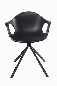 Ventura 408F_Black Plastic Chair (Black)