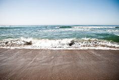 Remembering California beaches and warm spring days...