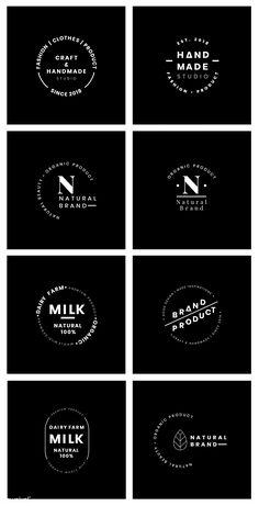 Design Corporativo, Design Visual, Badge Design, Design Trends, Restaurant Logo Design, Bakery Logo Design, Branding Design, Corporate Branding, Logo Branding