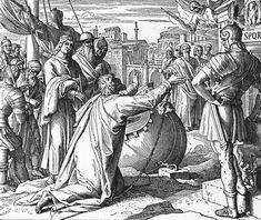 Bilder der Bibel - Pauli Ankunft in Rom - Julius Schnorr von Carolsfeld