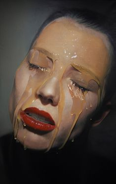 Honey: Hyper-Realistic Paintings by Mike Dargas | Inspiration Grid | Design Inspiration