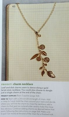 charm necklace  #necklace
