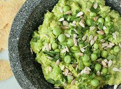 ABC Cocina's Spring Pea Guacamole Recipe from Jean-George
