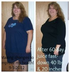 60 juice fast weight loss stories