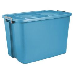 Sterilite® 32 Gallon Aquarium Latch Tote with Titanium Latches - L x W x H  sc 1 st  Pinterest & Blue Hawk 27-Gallon Tote with Latching Lid. Item #: 131957   Model ...